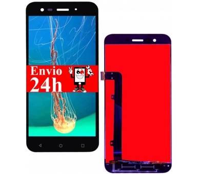 Volledig scherm voor Vodafone Smart Prime 7 VF600 VFD600 Zwart Zwart FIX IT - 2