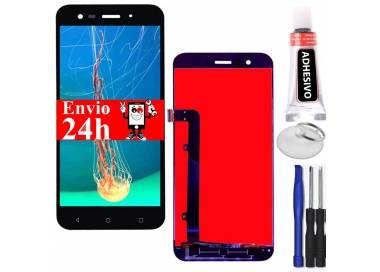 Pantalla Completa para Vodafone Smart Prime 7 VF600 VFD600 Negro Negra ARREGLATELO - 1