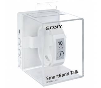 Pulsera Inteligente Deportiva Sony SmartBand Talk SWR 30 NFC