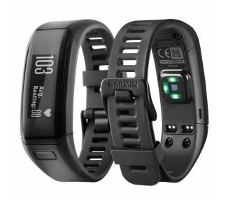 Pulsera Inteligente Reloj Garmin Vivosmart HR, Negro, Reacondicionado