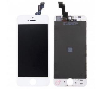 Pantalla Original Reacondicionada para iPhone 5S Blanco ARREGLATELO - 1
