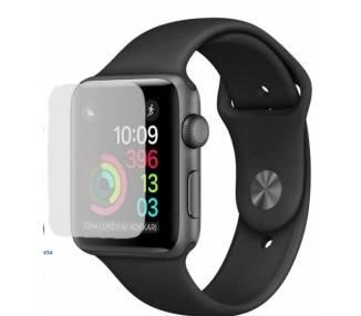 Protector de Pantalla de Cristal Templado para Apple Watch 2 3 4 5, 42mm ARREGLATELO - 1