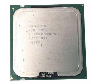 Procesador Intel Pentium 4, 3.48Ghz, 1M, 800, 04A SL7PY MALAY, L51 0B291  - 1
