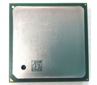 Procesador Intel Pentium 4, 1.8Ghz, 256k, 400, 1.75v, SL5VJ, PHILIPPINES  - 1