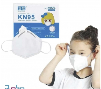 Pacl 10 Mascarillas Infantil KN95 Autofiltrantes KN95 Superior a FFP2 Niños ARREGLATELO - 2