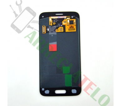 Pełny ekran dla Samsung Galaxy S5 Mini G800F Czarny Czarny ARREGLATELO - 4
