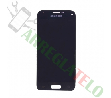 Pantalla Completa para Samsung Galaxy S5 Mini G800F Negro Negra ULTRA+ - 2
