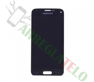 Pełny ekran dla Samsung Galaxy S5 Mini G800F Czarny Czarny ARREGLATELO - 2