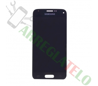 Pantalla Completa para Samsung Galaxy S5 Mini G800F Negro Negra ARREGLATELO - 2
