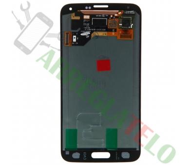 Schermo intero per Samsung Galaxy S5 Mini G800F Nero Nero ARREGLATELO - 3