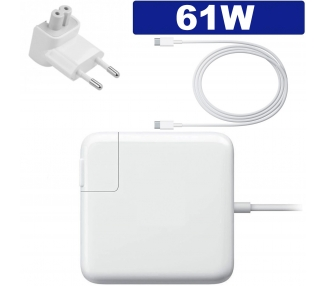 Cargador MacBook USB-C para Apple MacBook Pro 61W ARREGLATELO - 1