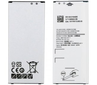 Battery For Samsung Galaxy A3 2016 , Part Number: EB-BA310ABE ARREGLATELO - 1
