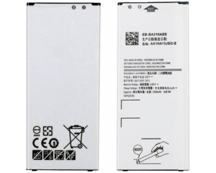 Batterij voor Samsung Galaxy A3 A310 2016, Origineel MPN: EB-BA310ABE ARREGLATELO - 1