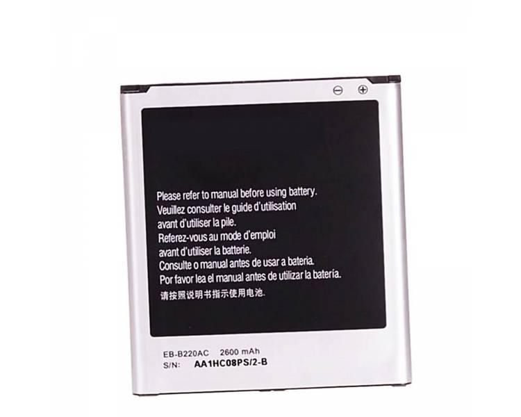 Battery For Samsung Galaxy Grand 2 Duos , Part Number: EB-B220AC ARREGLATELO - 1