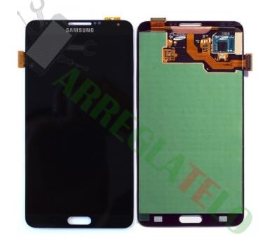 Pantalla Completa para Samsung Galaxy Note 3 Negro Negra ULTRA+ - 2