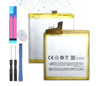 Battery For Meizu M2 Mini , Part Number: BT43C  - 1