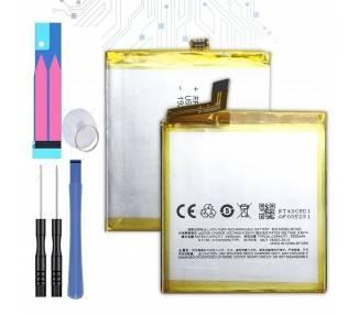 Bateria para Meizu Meilan 2, M2 mini, MPN Original: BT43C  - 1