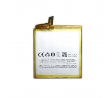 Battery For Meizu M2 Mini , Part Number: BT43C  - 2
