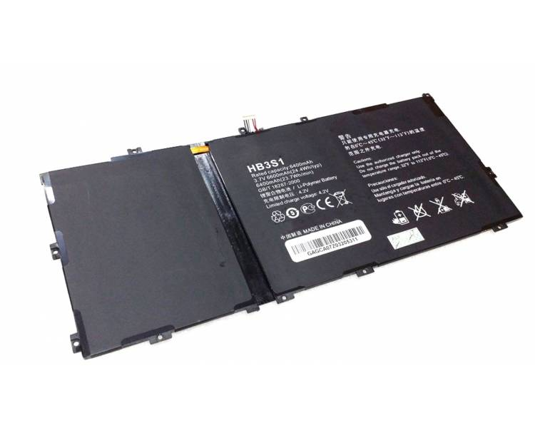 Battery For Huawei Mediapad S10 , Part Number: HB3S1  - 1
