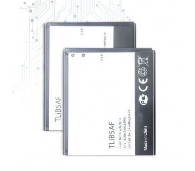 Battery For Alcatel One Touch Pixi , Part Number: TLIB5AF  - 1