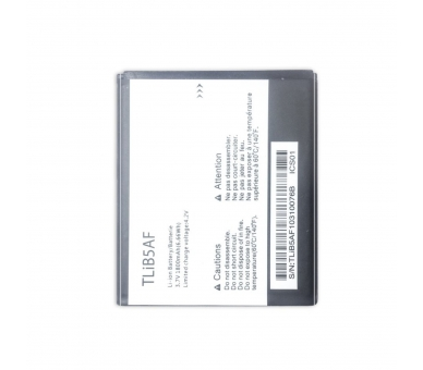 Battery For Alcatel One Touch Pixi , Part Number: TLIB5AF  - 2
