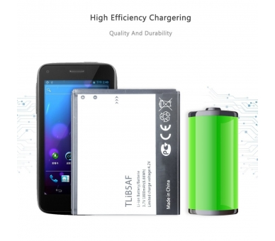 Battery For Alcatel One Touch Pixi , Part Number: TLIB5AF  - 4