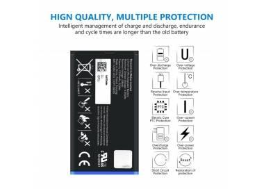 Bateria NX1 Original para Blackberry Q10 N-X1 NX-1 para BAT-52961-003  - 3