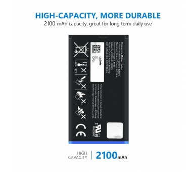 Battery For Blackberry Q10 , Part Number: NX1  - 4