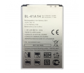 Battery For LG F60 , Part Number: BL-41A1H