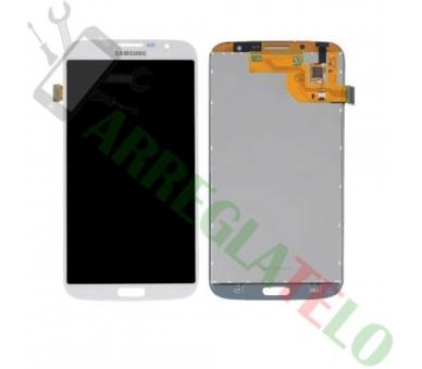 Pantalla Completa para Samsung Galaxy Mega i9200 i9205 Blanco Blanca ULTRA+ - 2