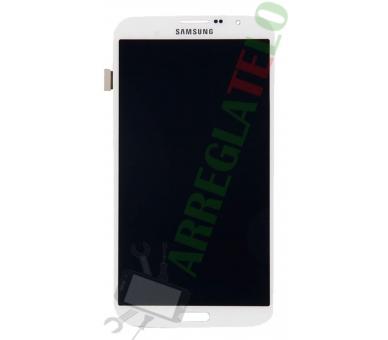 Pantalla Completa para Samsung Galaxy Mega i9200 i9205 Blanco Blanca ULTRA+ - 3