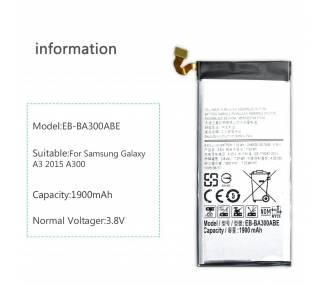 Bateria EB-BA300ABE compatible para Samsung Galaxy A3 A300F A300 A300FU  - 4