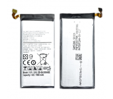 Battery For Samsung Galaxy A3 A300 , Part Number: EB-BA300ABE  - 2