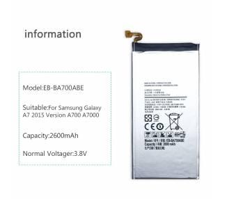 EB-BA700ABE bateria kompatybilna do Samsung Galaxy A7 A700 2015 SM-A700F