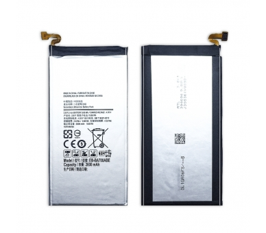 Battery For Samsung Galaxy A7 , Part Number: EB-BA700ABE  - 2