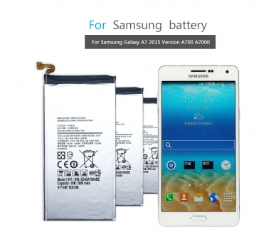 Battery For Samsung Galaxy A7 , Part Number: EB-BA700ABE  - 8