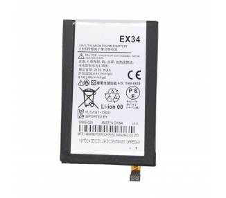 Battery For Motorola Moto X , Part Number: EX34  - 2