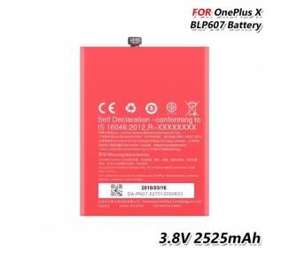 Bateria BLP607 Original para Oneplus X / One Plus X  - 3