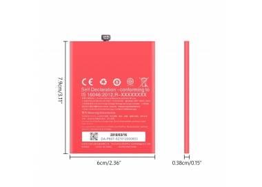 Bateria BLP607 Original para Oneplus X / One Plus X  - 4