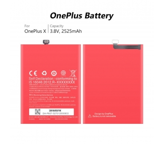 Bateria BLP607 Original para Oneplus X / One Plus X  - 5