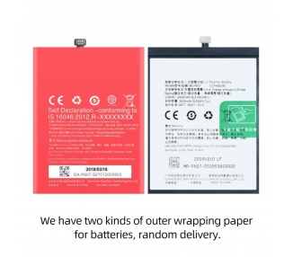 Oryginalna bateria BLP607 do Oneplus X / One Plus X