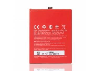 Bateria BLP607 Original para Oneplus X / One Plus X  - 8
