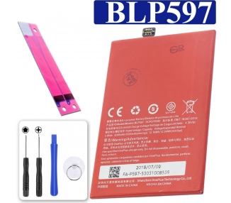 Bateria BLP597 Original para Oneplus Two / OnePlus 2 / One Plus Two  - 1