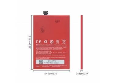 Bateria BLP597 Original para Oneplus Two / OnePlus 2 / One Plus Two  - 4
