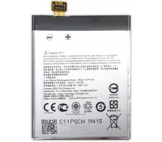 Battery For Asus Zenfone 5 , Part Number: C11P1324  - 2