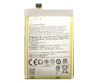 Battery For Asus Zenfone 6 , Part Number: C11P1325  - 3