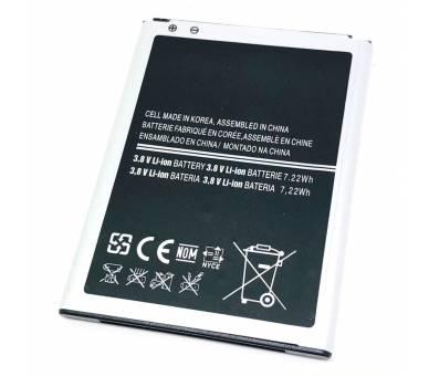 Batterij B500BE B500AE voor Samsung Galaxy S4 Mini - originele capaciteit  - 3