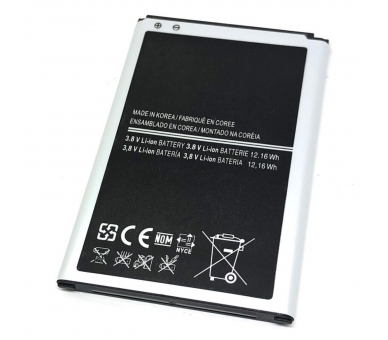 Battery For Samsung Galaxy Note 3 , Part Number: B800BE  - 3