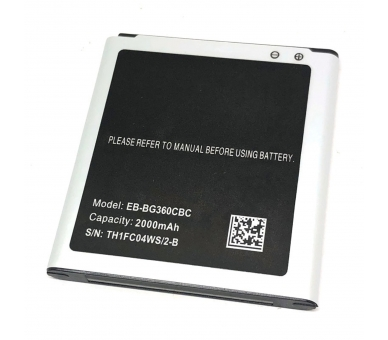 EB-BG360CBC Batterij voor Samsung Galaxy Core Prime SM-G360F - originele capaciteit  - 2