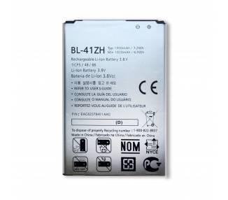 Bateria BL-41ZH original para LG L Fino D290 D290N L50 D213 Leon H340N  - 2